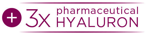 Button 3x pharmazeutisches Hyaluron