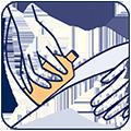 Icon Massage Oberschenkel