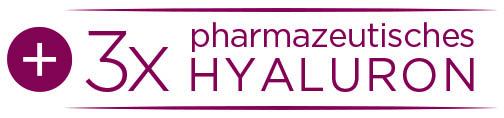 Button 3x pharmazeutisches Hyaluron
