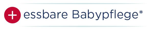 Knöpfchentext essbare Babypflege Waschlotion