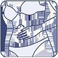 Icon Bauch-Massage