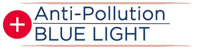 main claim anti pollution and blue light
