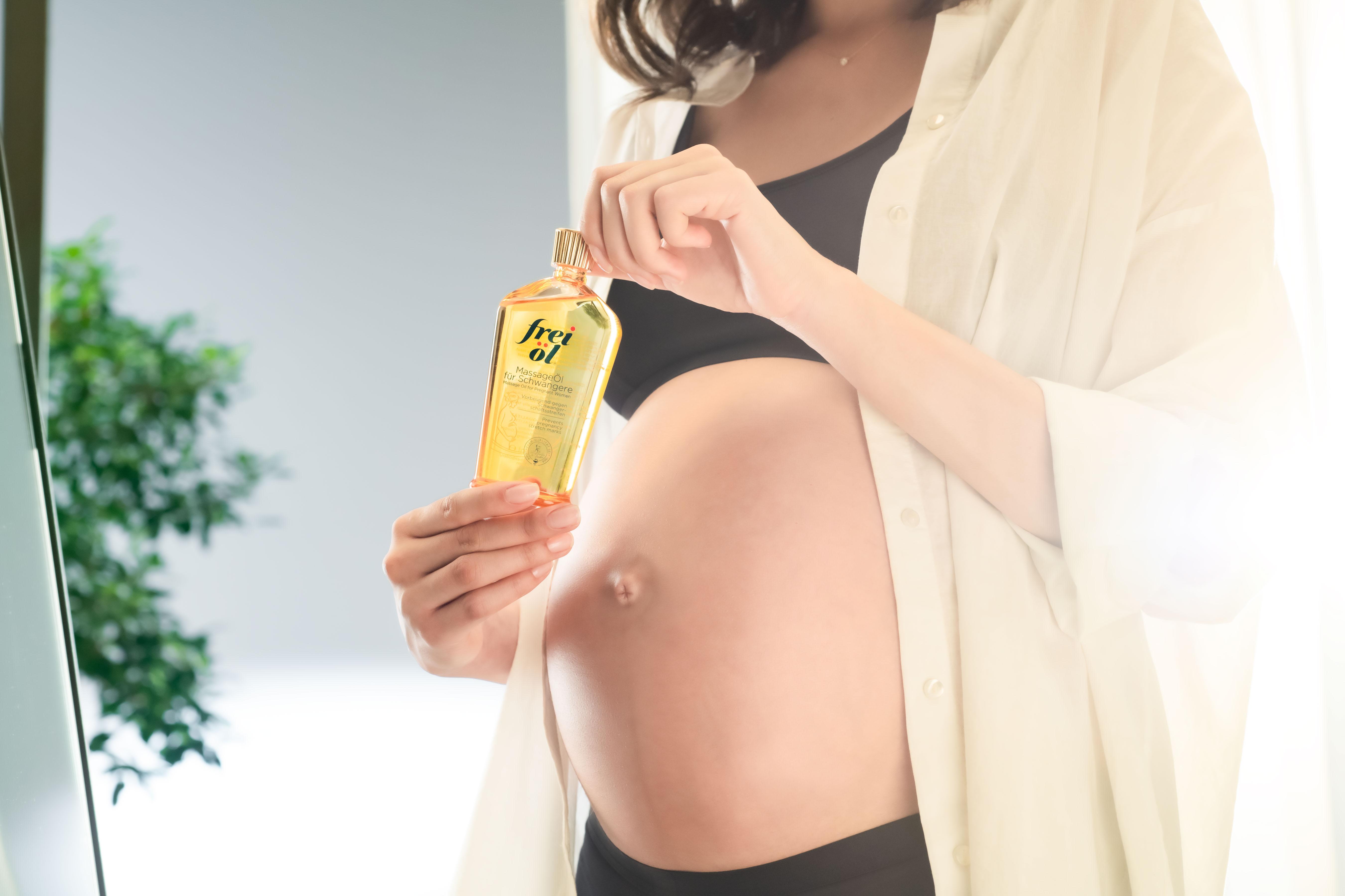 frei öl® Studie | Verbesserung der Hautelastizität in der Schwangerschaft